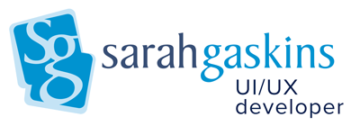 Sarah Gaskins, Freelance Web Developer